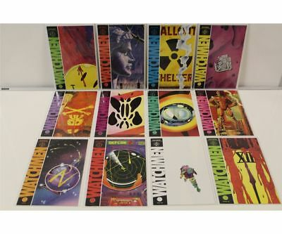 Watchmen #1-12 Complete Set (1986 DC) NICE!!! Full Run Moore Gibbons Rorschach