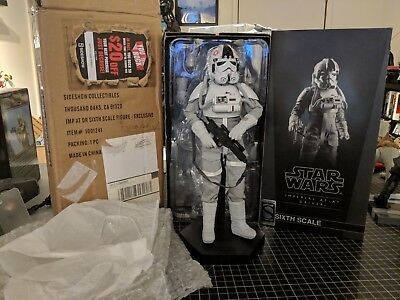 Sideshow Collectibles Imperial AT-AT Driver Exclusive Sixth Scale Action Figure