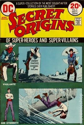 Secret Origins (1st Series) #4 1973 VG Stock Image Low Grade
