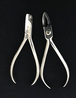 2 Orthodontic Pliers Dental Instruments