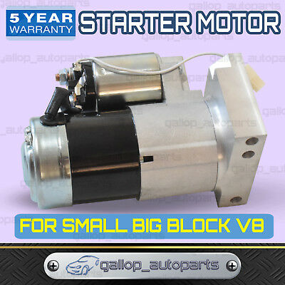 For Chev Starter Motor Small And Big Block V8 283 307 327 350 400 396 427 454