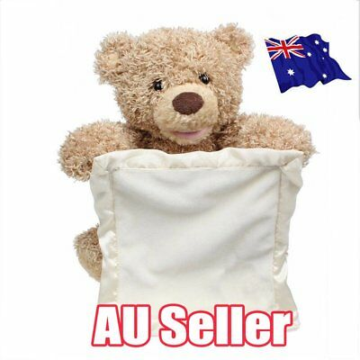 Peek A Boo Teddy Bear Toddler Kids Children Child Play Soft Toy Plush Blanket ON