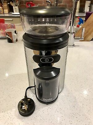 Dualit 75015 BURR Coffee grinder 150W Boxed New