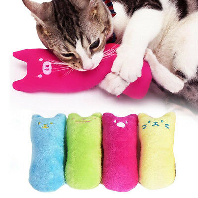 Interactive Catnip Pets Cat Pillow Toy Teeth Grinding Claws Pet Funny Plush Toys