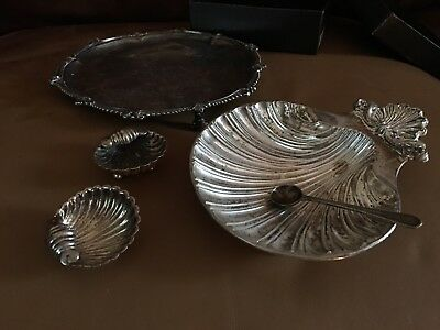 Beautiful Antique Silver Plate