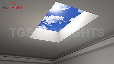 Rooflight/ skylight/ Glass Flat Rooflight - D/B Glazed - All Sizes