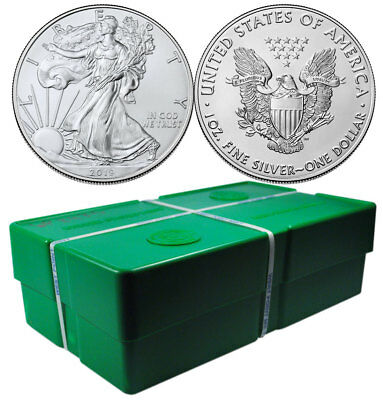 Monster Box of 500 2019 1 oz American Silver Eagle $1 GEM BU SKU55908