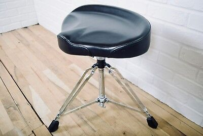 PDP Pacific bicycle style drum throne stool in near mint condition-drum hardware