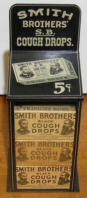 Smith Brothers' Cough Drops Tin Display with Original Boxes