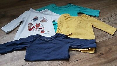 Baby Girls Long Sleeved Tops 3-6 Months Next. Excellent condition.