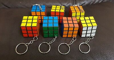 Rubix Keyring 50 pcs Bulk Wholesale rubiks cube joblot CHEAPEST SELLER 39p each!