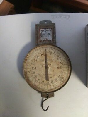 Vintage/ Antique Dairy Scale sold by Sears and Roebuck