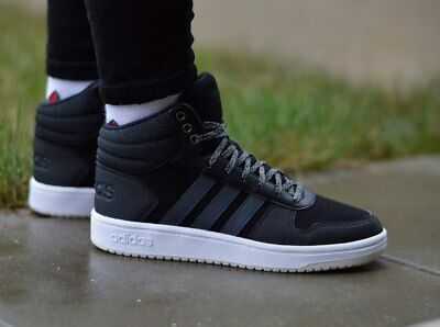 Adidas Women Shoes Casual Sneakers Fashion Hoops Mid Trainers Running New B42110