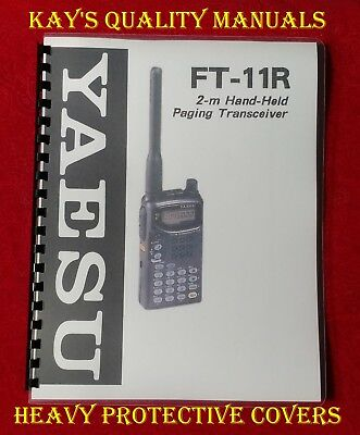 High Quality ~ Yaesu FT-11R Operating Manual    ****C-MY OTHER MANUALS****