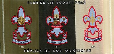 Boy Scout Patch From Peru
