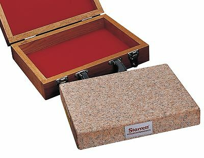 Starrett Granite Toolmakers Flat, Pink, 8x12x2 - 81803