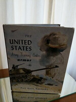 US Army Training Center Armor Fort Knox 16th Battalion Company A 1962 USATC