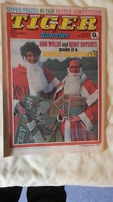 TIGER and SCORCHER Xmas edition (1978)