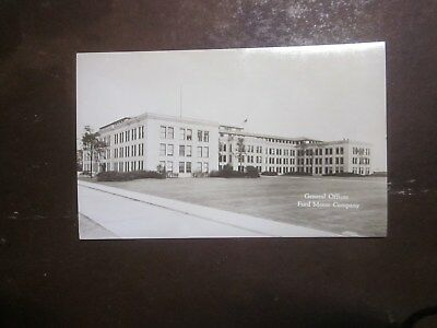 Vintage Rppc Ford Motor Co. General Offices