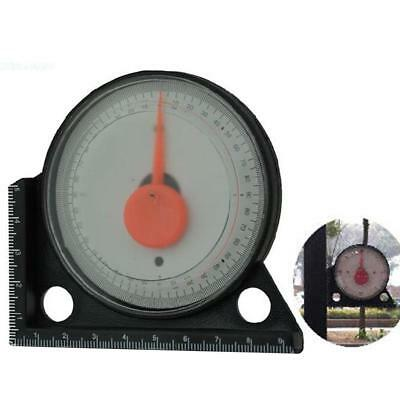 Slope Inclinometer Protractor Tilt Level Meter Angle Finder Clinometer Gauge