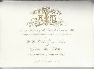 British Commonwealth 1973 Wedding Of Princess Anne Pack J3397