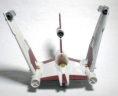 ESA2044. Star Wars V-19 TORRENT STARFIGHTER Toy Ship From Hasbro LFL (2008) =