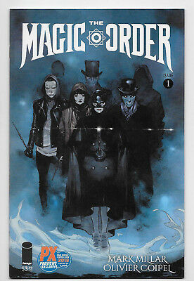 Magic Order #1 Image/Netflix Comic 2018 PX Exclusive SDCC Variant Cover LTD 2000