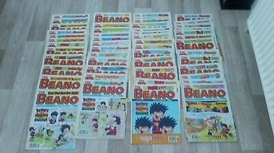 BEANO COMICS  x 52 from 1995 Issues 2739 to 2789