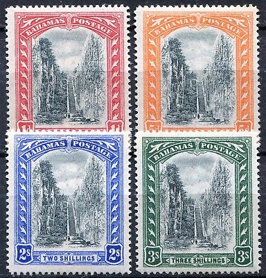 Bahamas 1901 Queens Staircase, SG 58 - 61, Mint Hinged, CV £95