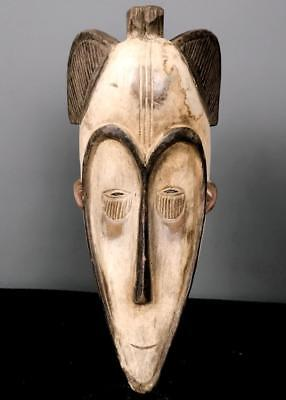 Old Tribal Large Fang Ngil    Mask    --  Gabon