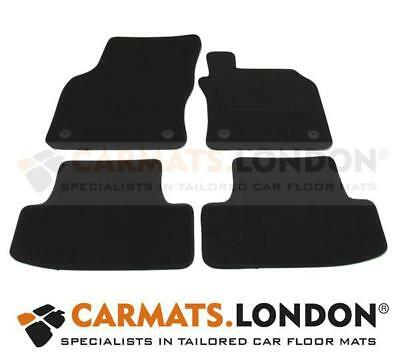 Audi Q2 2016 - 2019 Tailored Car Floor Mats Fitted Set Black 3910