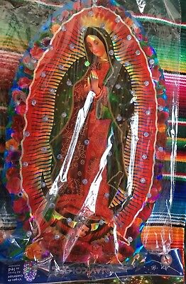 Light Up Virgin de Guadalupe Mexican decoration traditional Catholic