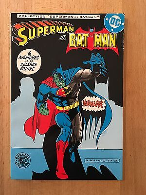 Superman et Batman - Kidnappé - Sagédition - 1983 - NEUF