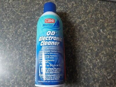 CRC QD ELECTRONIC CLEANER SPRAY QUICK DRYING FORMULA CONTACT CLEANER-11 oz.
