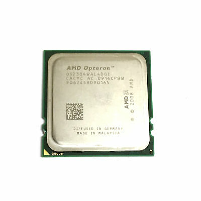 OS2376WAL4DGIWOF AMD OPTERON 2376 4 CORES 2.30GHz 6M 2000MHz 115W PROCESSOR