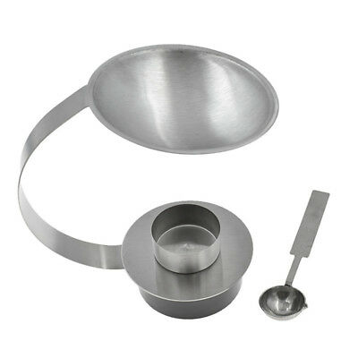 Stainless Steel Wax Seal Stamp Stove Tablespoon Kit Furnace Melt Handcraft Tool