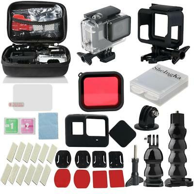 32pcs Waterproof Underwater Housing Case Dive Filter Kit for GoPro Hero 5/6/2018