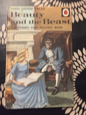 vintage ladybird book BEAUTY AND THE BEAST Series 606D 1968