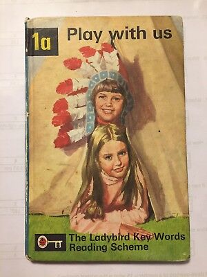 LADYBIRD BOOK: PLAY WITH US (1a - Key Words Reading Scheme) 1964