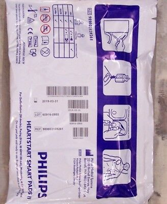 Philips HeartStart Smart Pads II - For Philips FRX New Also Fits FR3 MRx FR2 FRx