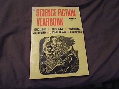 Vintage 1969 Science Fiction Yearbook-Horror-LOOK