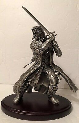 """NECA 8"""" Aragorn Pewter Amalgama Figure The Lord Of The Rings"""