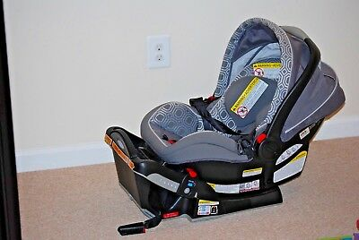 Graco SnugRide Click Connect 40 Infant Car Seat + Base+ Canopy Local Pick Up