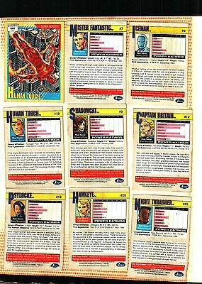 1991 Impel Marvel Universe Series 2 (145)POOR TO FAIR TO PLAYED WITH CONDITION