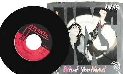 """INXS What You Need/Sweet As Sin 7"""" 45 RPM Vinyl """"NM"""""""