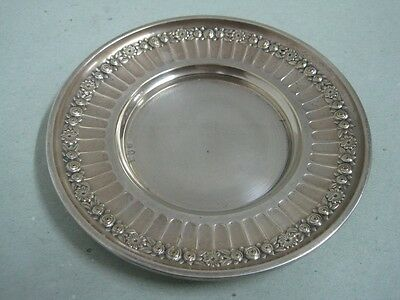 Antique Germany WMF small dish with flowers