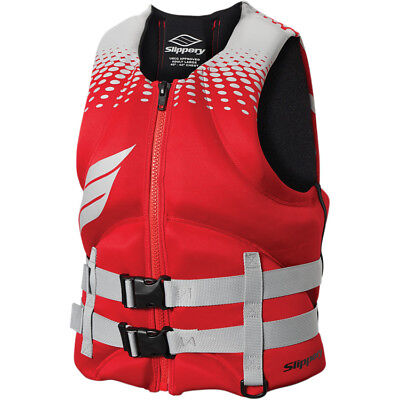 Slippery '16 Surge Neo Life Vest Red/Silver XS