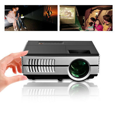Mini LED Projector 1500lm Multimedia Video Movie Home Theater Game HDMI USB VGA