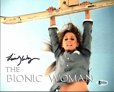 Lindsay Wagner The Bionic Woman Authentic Signed 8X10 Photo Autographed BAS