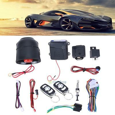 Car Alarm Start Security Keyless Entry System Push Button Remote Control Starter